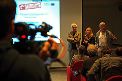 Stefano Tealdi, Heidi Gronauer and Hugh Purcell at ESoDoc